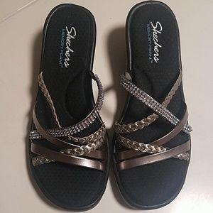 Skechers memory foam sandals